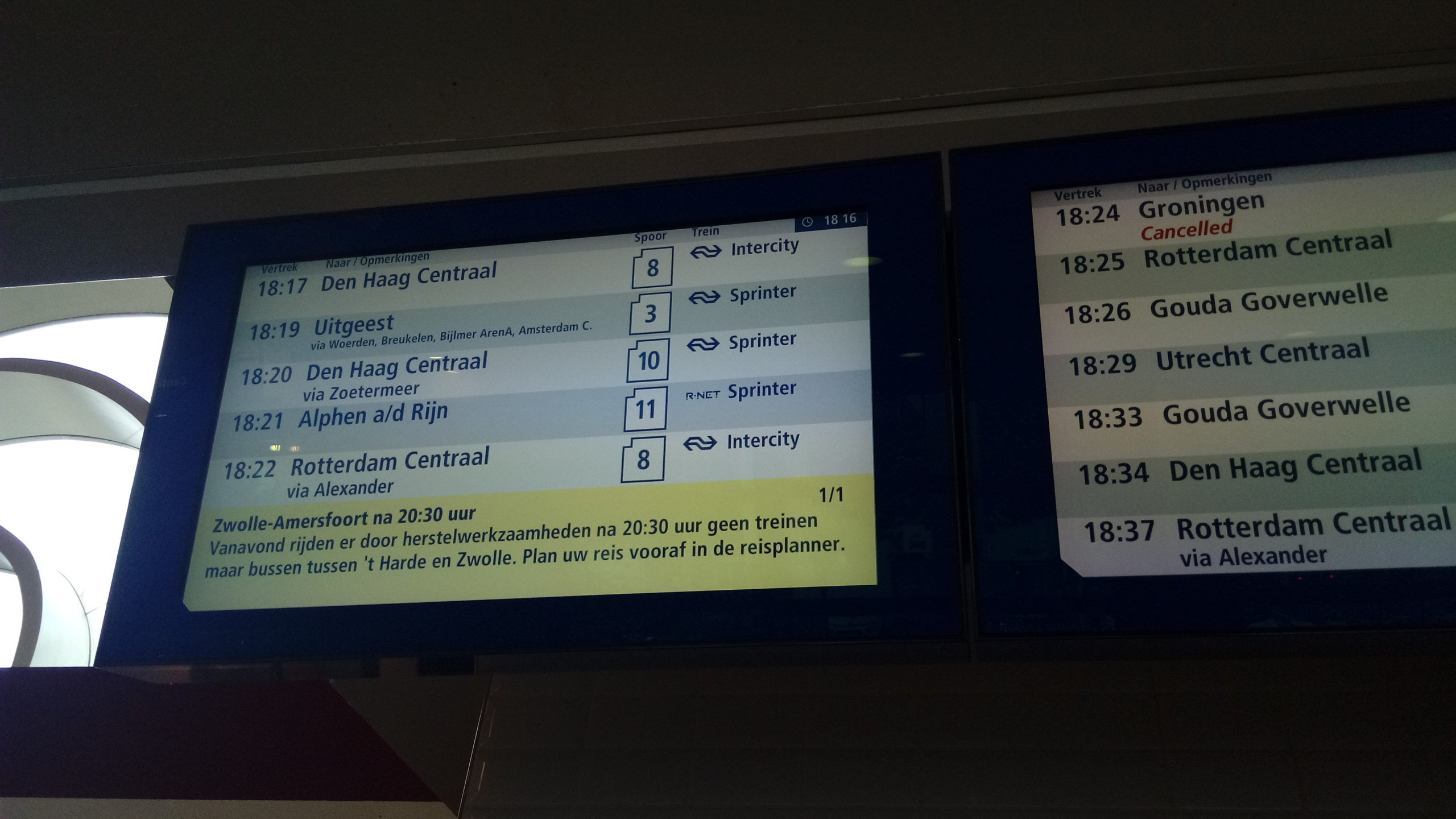 Cancelled Trains