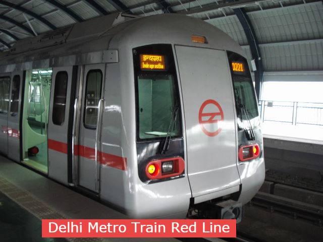 Delhi Metro Train Route